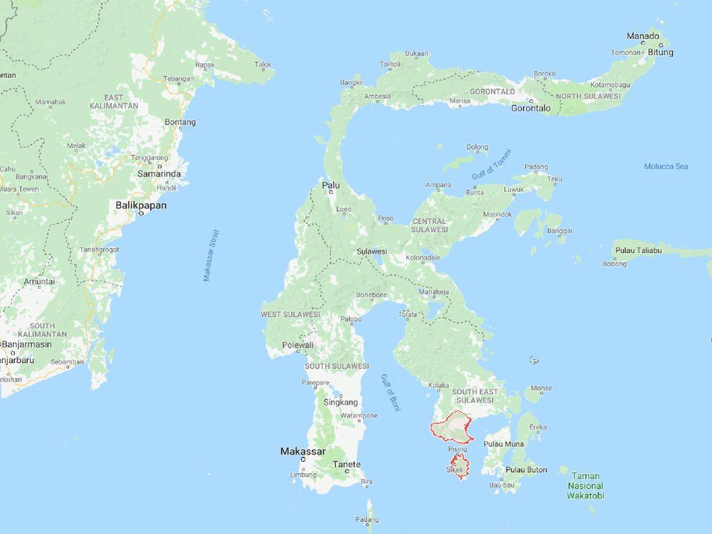 Catat! Ini Kondisi Geografis Pulau Sulawesi Berdasarkan Peta