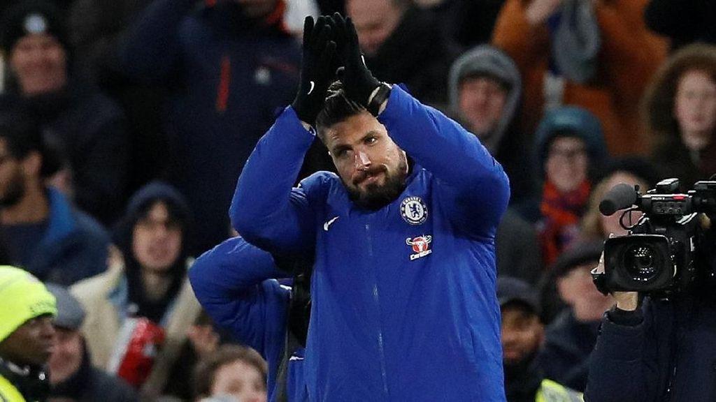 Soal Transfer ke Chelsea, Giroud: Wenger Ingin Saya Bahagia