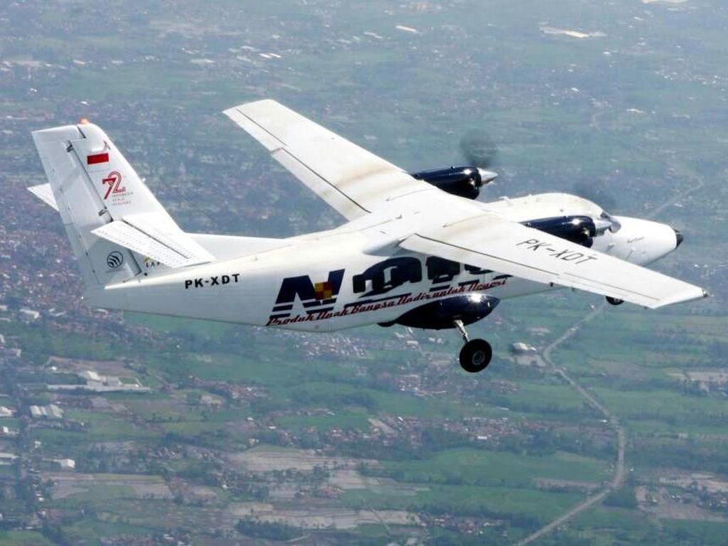 Gagah! N219 Terbang di Langit Jawa Barat