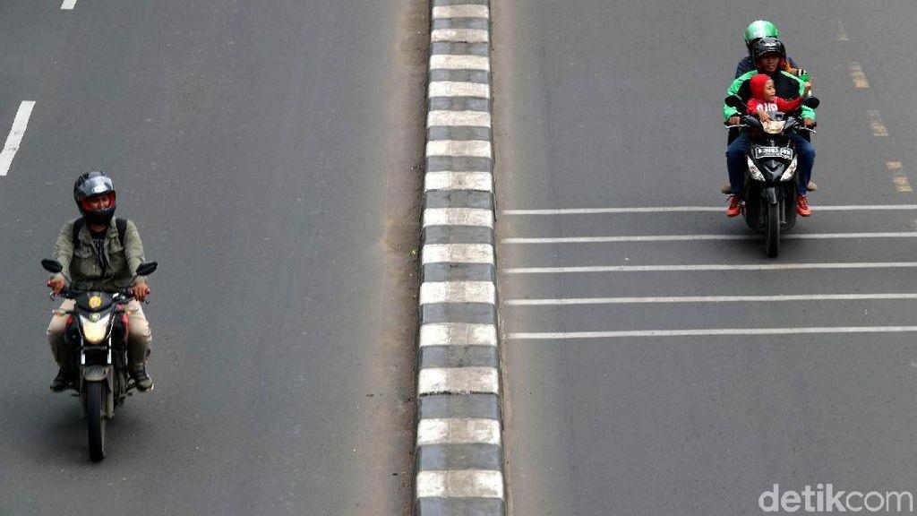 Lewat Margonda, Motor dan Angkot Wajib Gunakan Jalur Lambat