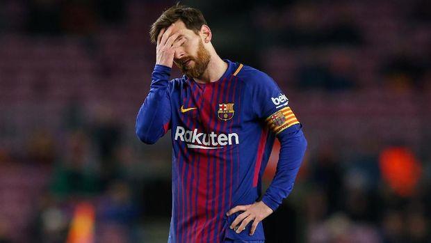 Lionel Messi belum pernah mencetak hattrick sempurna dalam kariernya.