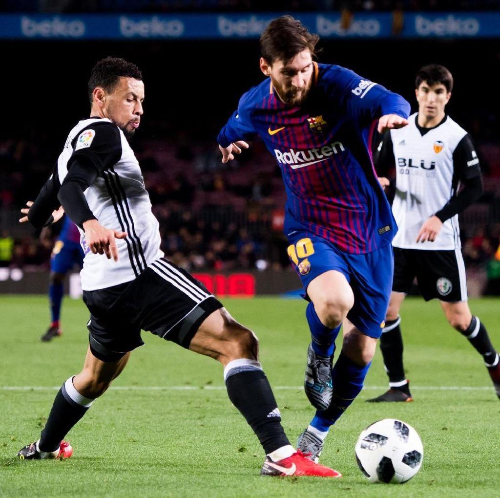 Barcelona, Jangan Terlalu Sering Mainkan Messi