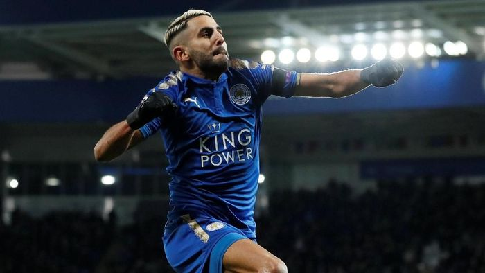 Riyad Mahrez (David Klein/Reuters)