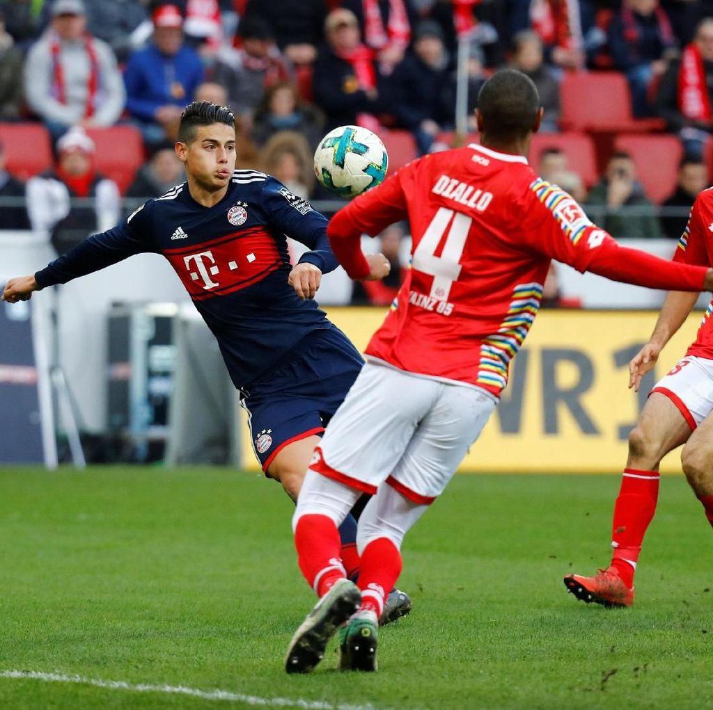 Ribery-James Antar Bayern Kalahkan Mainz 2-0