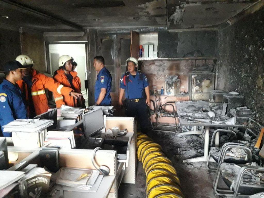 Kebakaran di Gedung DPR, Satu Ruang Staf BKSAP Hangus