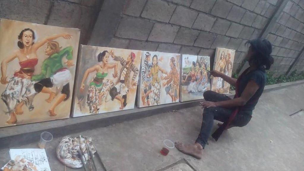 Ini Dwi Setiawan, Pelukis di Menteng yang Tewas Dililit Ular Sanca