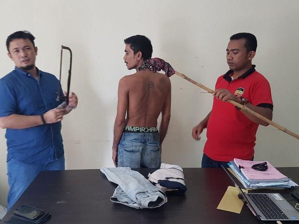 Polisi Tangkap Residivis di Lhoukseumawe yang Bakar Tower Seluler