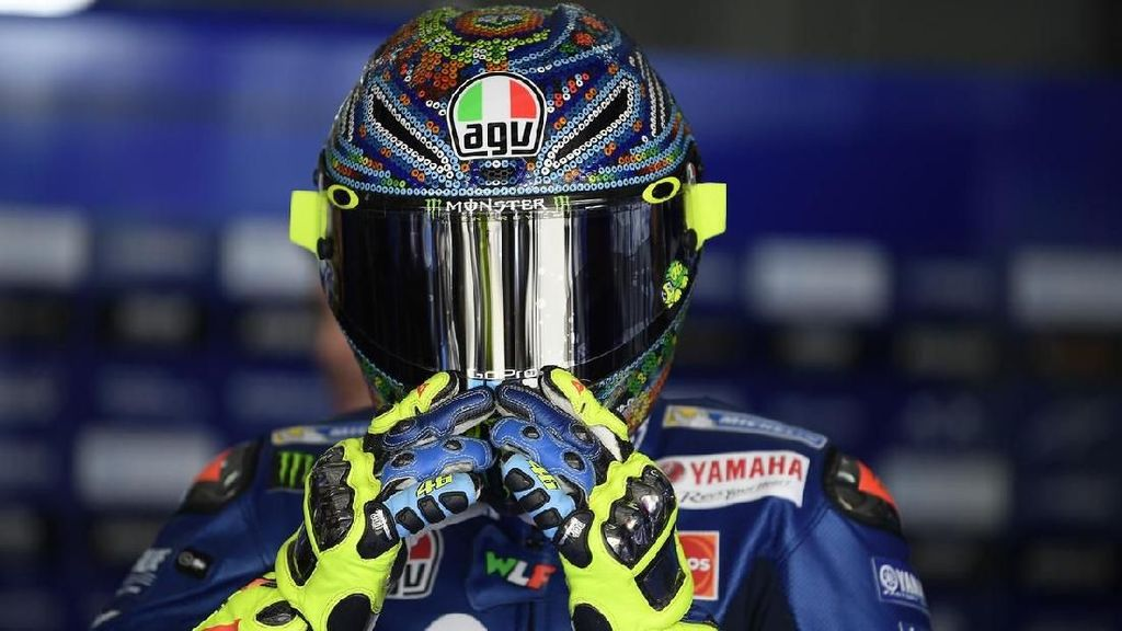 Helm Unik Pebalap MotoGP