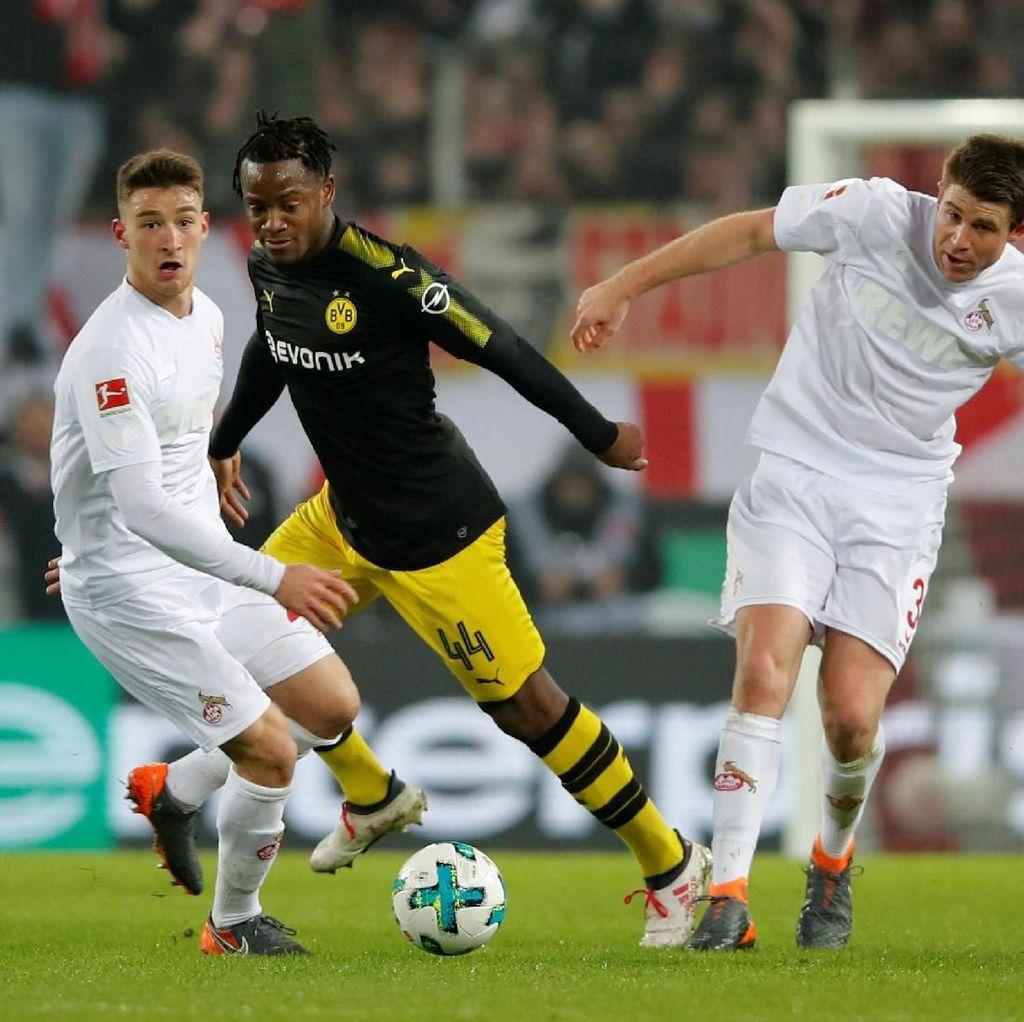 Batshuayi Dua Gol, Dortmund Kalahkan Cologne