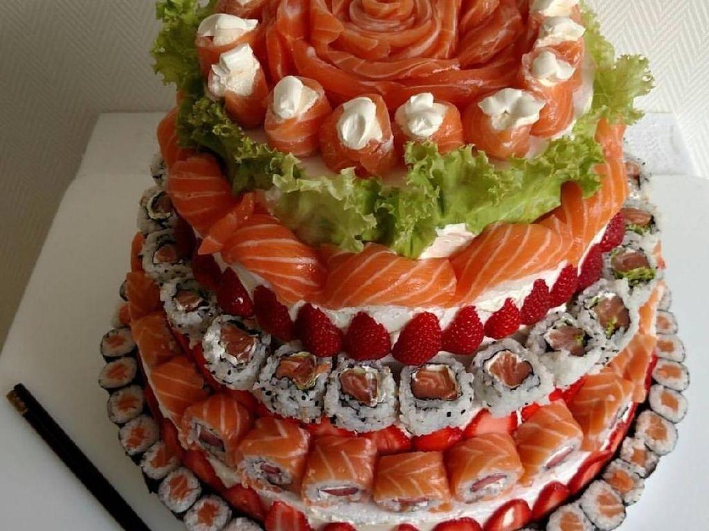 Tips Membuat Sushi Cake untuk Ulang Tahun
