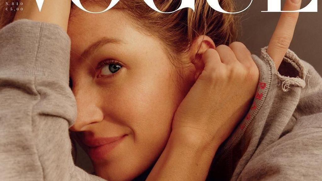 Bikin Iri, Foto Gisele Bundchen di Vogue yang Tetap Cantik Tanpa Makeup