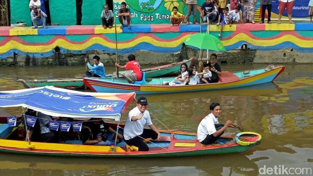 Foto: Dulu Kumuh, Kini Sungai di Palembang Ini Jadi Cantik