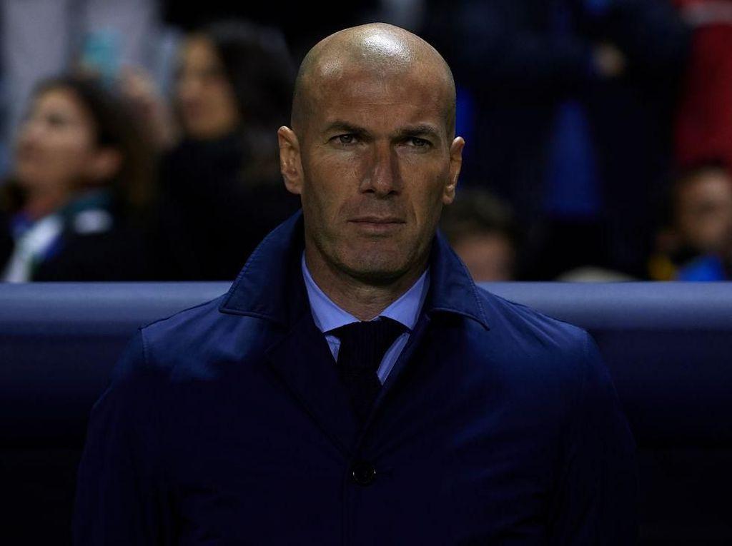 Hasil yang Bikin Zidane Jijik