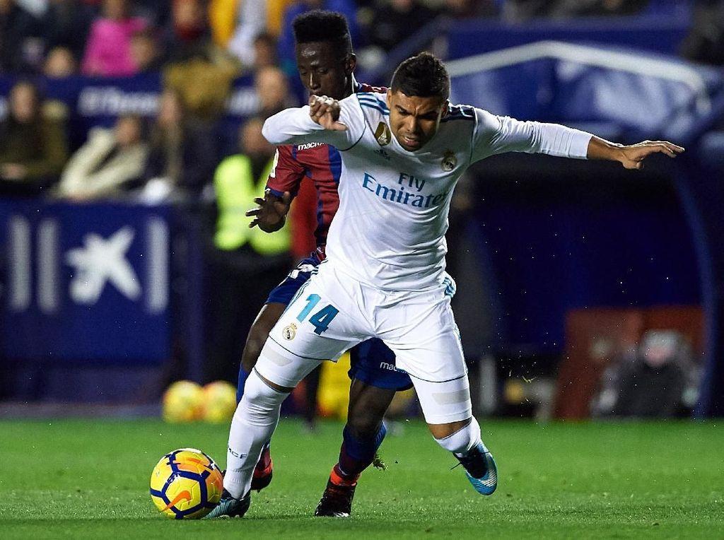 Diimbangi Levante Jadi Alarm Madrid Sebelum Hadapi PSG