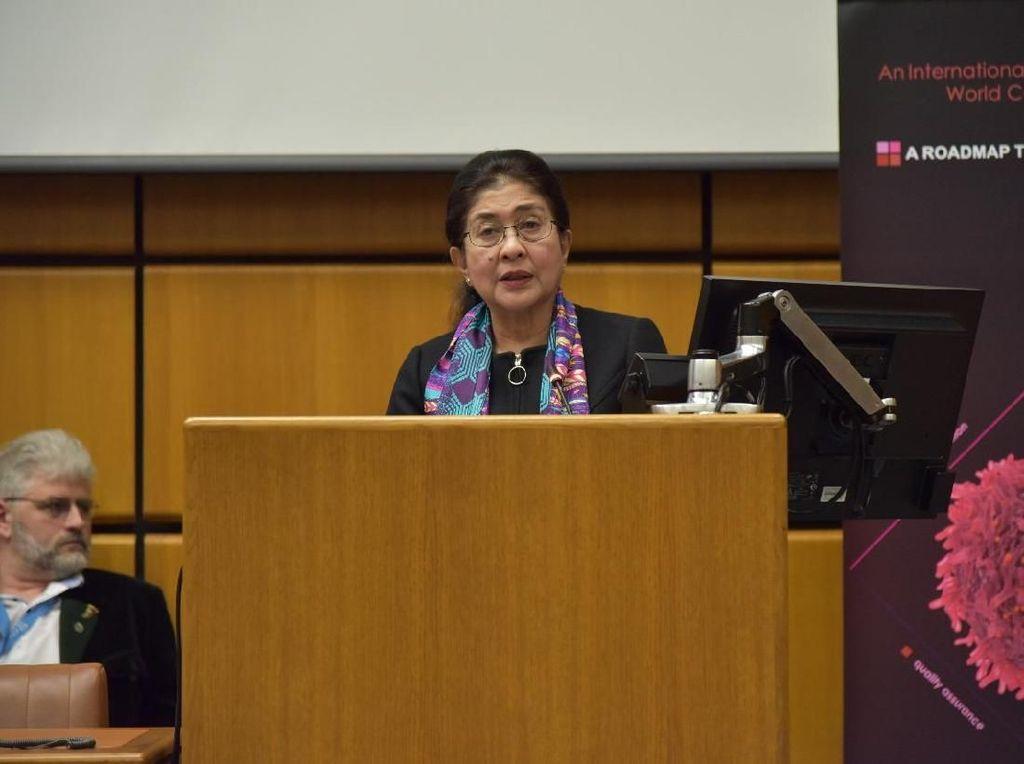 Menkes Pidato Soal Pentingnya Penanganan Kanker di Markas PBB