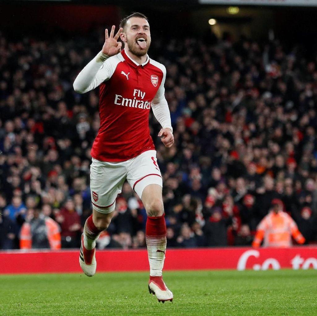 Arsenal Menanti Tuah Ramsey di Laga Final