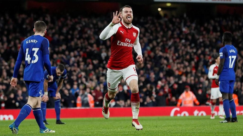 Arsenal Menanti Tuah Ramsey di Laga Final