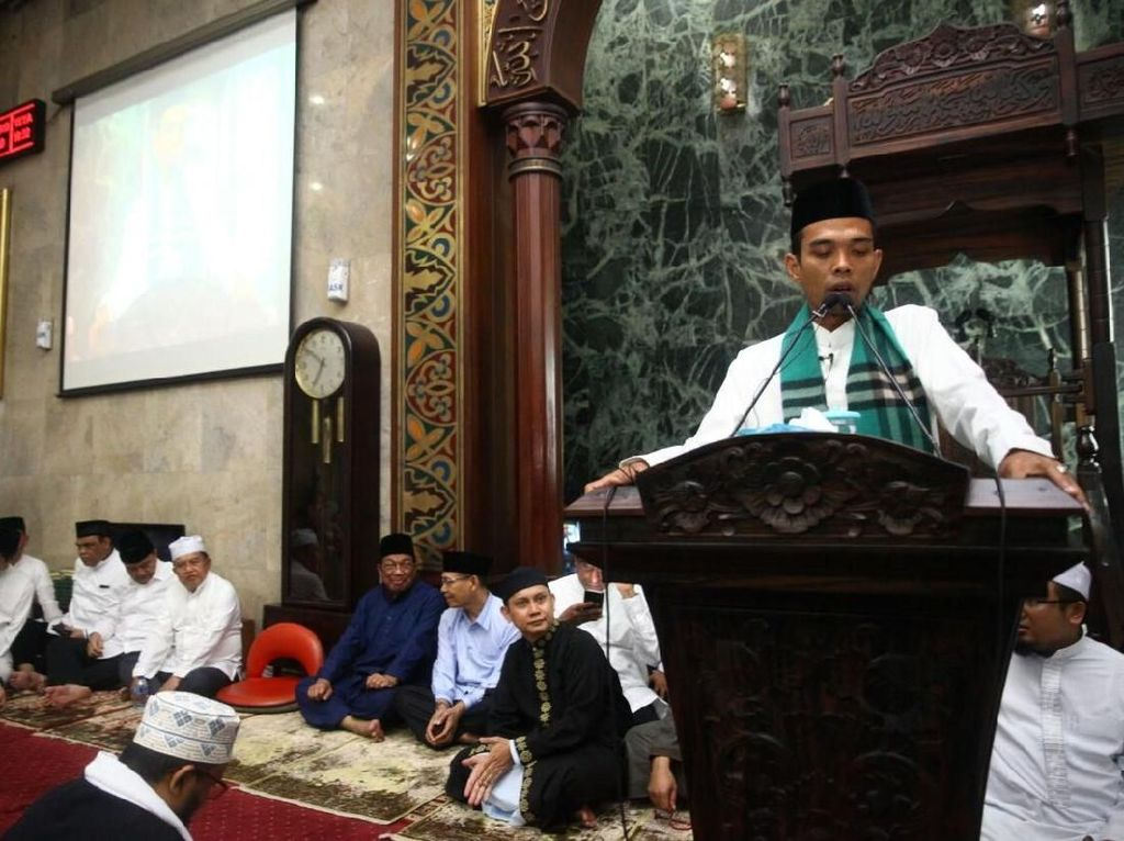 Abdul Somad Tolak Maju Pilpres, Gerindra: Jadi Bahan Diskusi