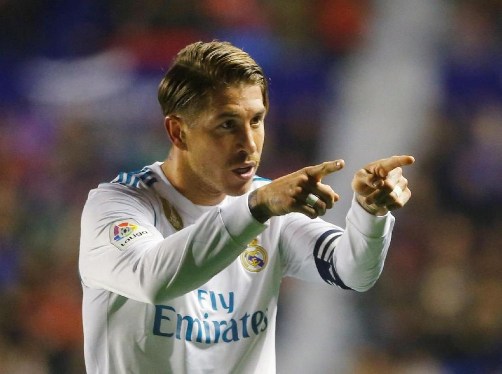 Gol Bersejarah Sergio Ramos