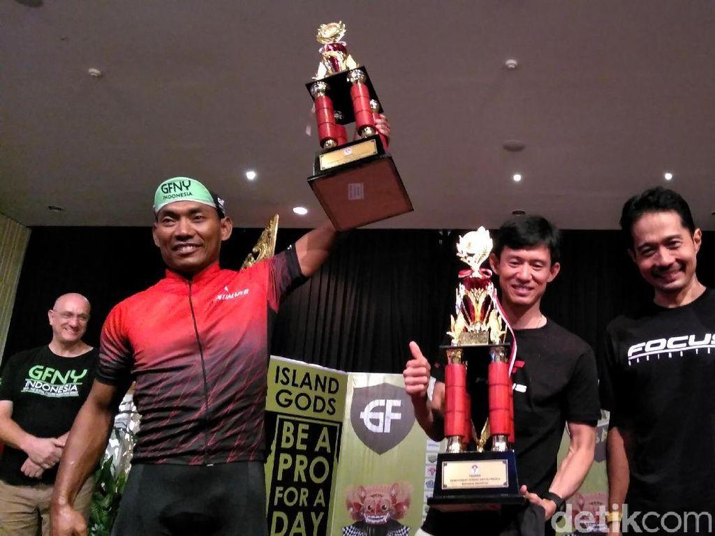 Mekanik Asal Semarang Juwanto Juarai Kelompok Putra GFNY Bali 2018