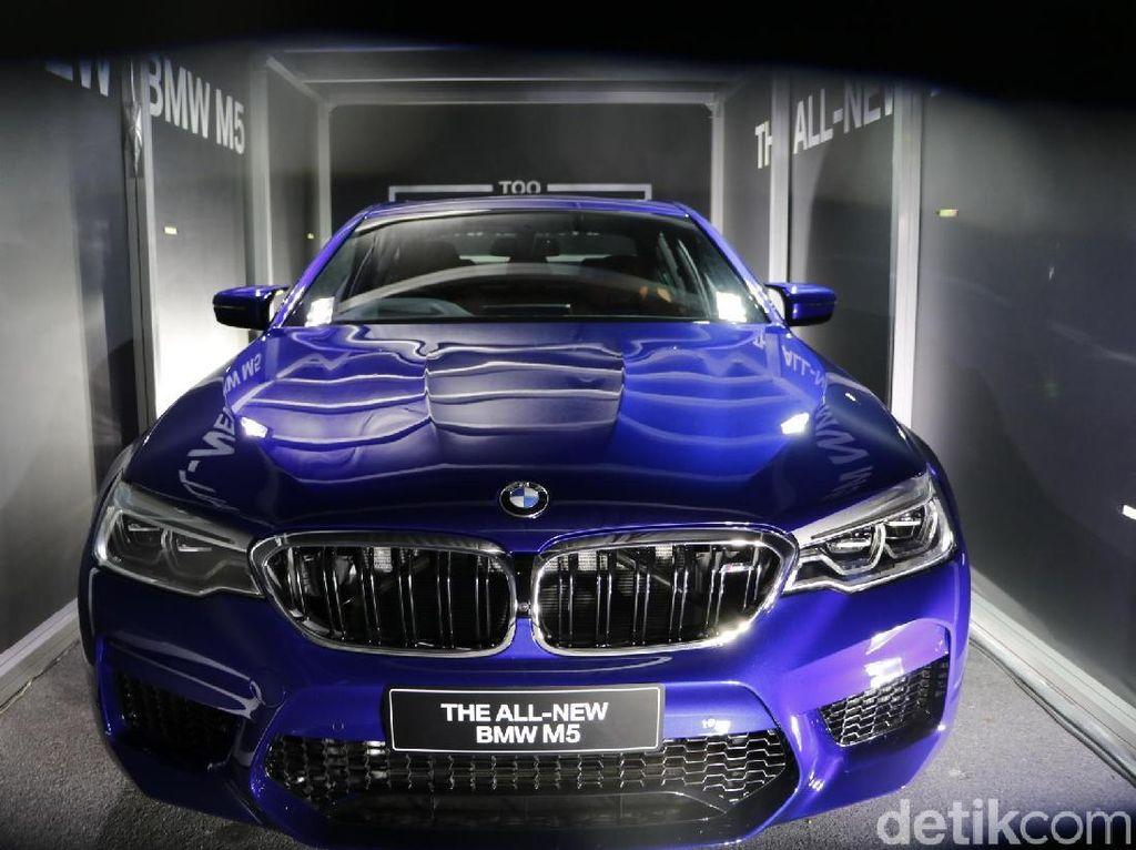 BMW Buka Pemesanan M5 Terbaru, Harga Rp 3,6 Miliar