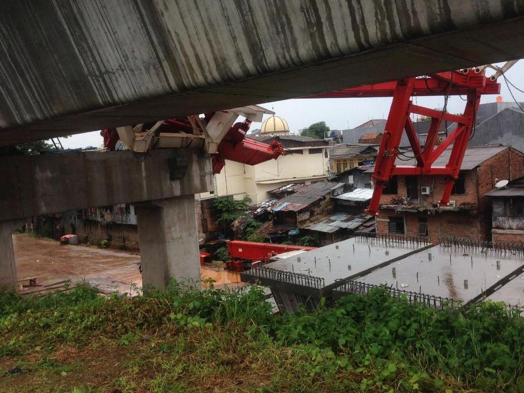 4 Orang Tewas, Ini Kronologi Ambruknya Crane DDT di Jatinegara