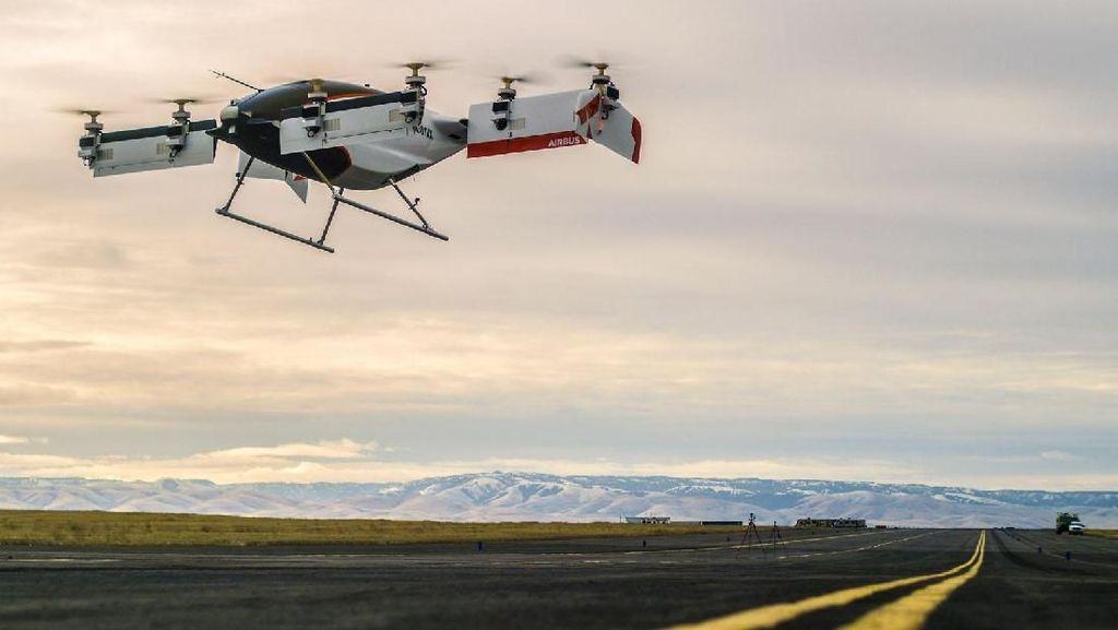 Foto: Taksi Terbang Keren ala Airbus