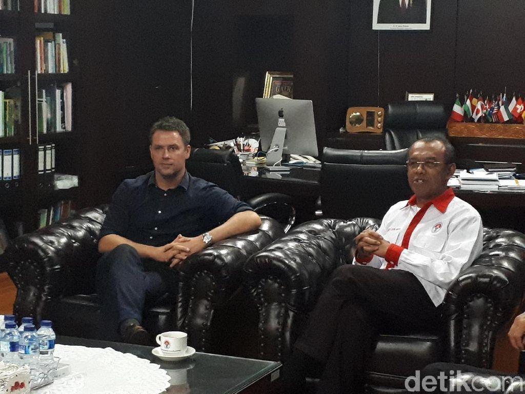 Setelah Sapa Penggemar Jakarta, Owen ke Kemenpora