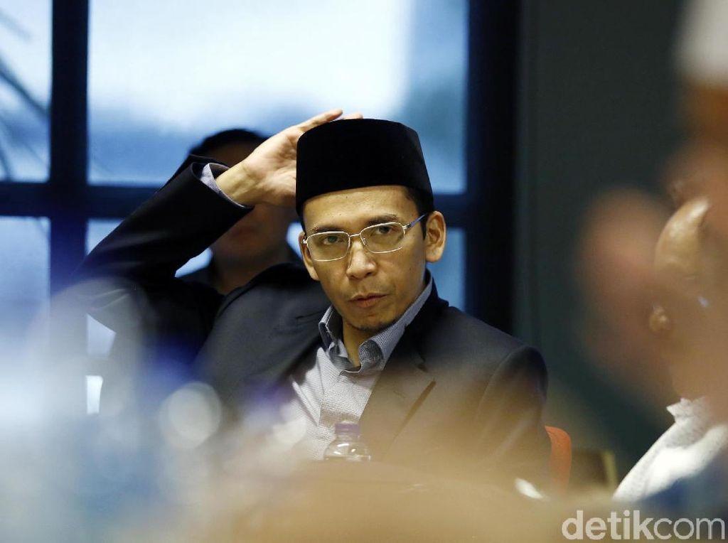 Foto: TGB, Kader PD yang Didukung Ustaz Abdul Somad dkk Maju Pilpres