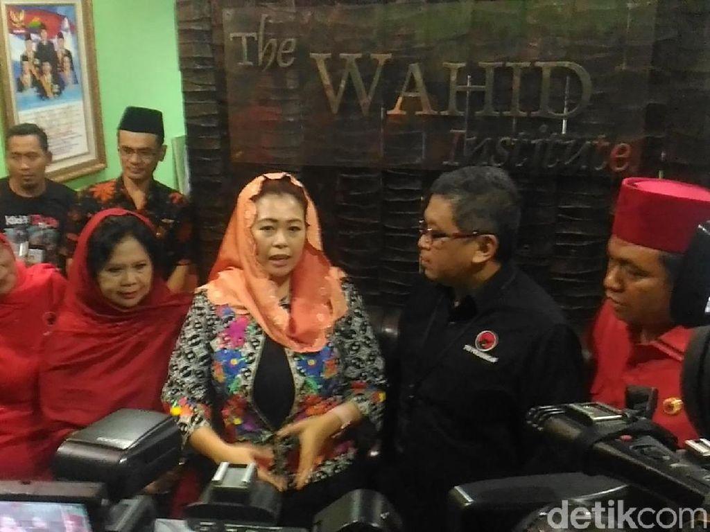 Hasto Kunjungi The Wahid Institute Bahas Jelang 20 Tahun Reformasi