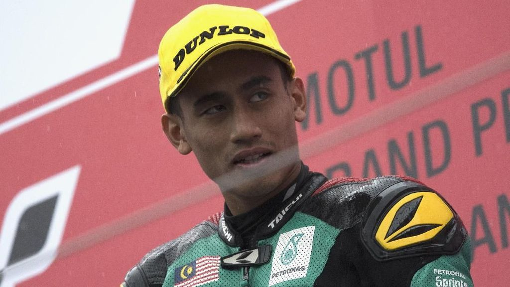 Hafizh Syahrin Resmi Membalap untuk Tech3 di MotoGP 2018