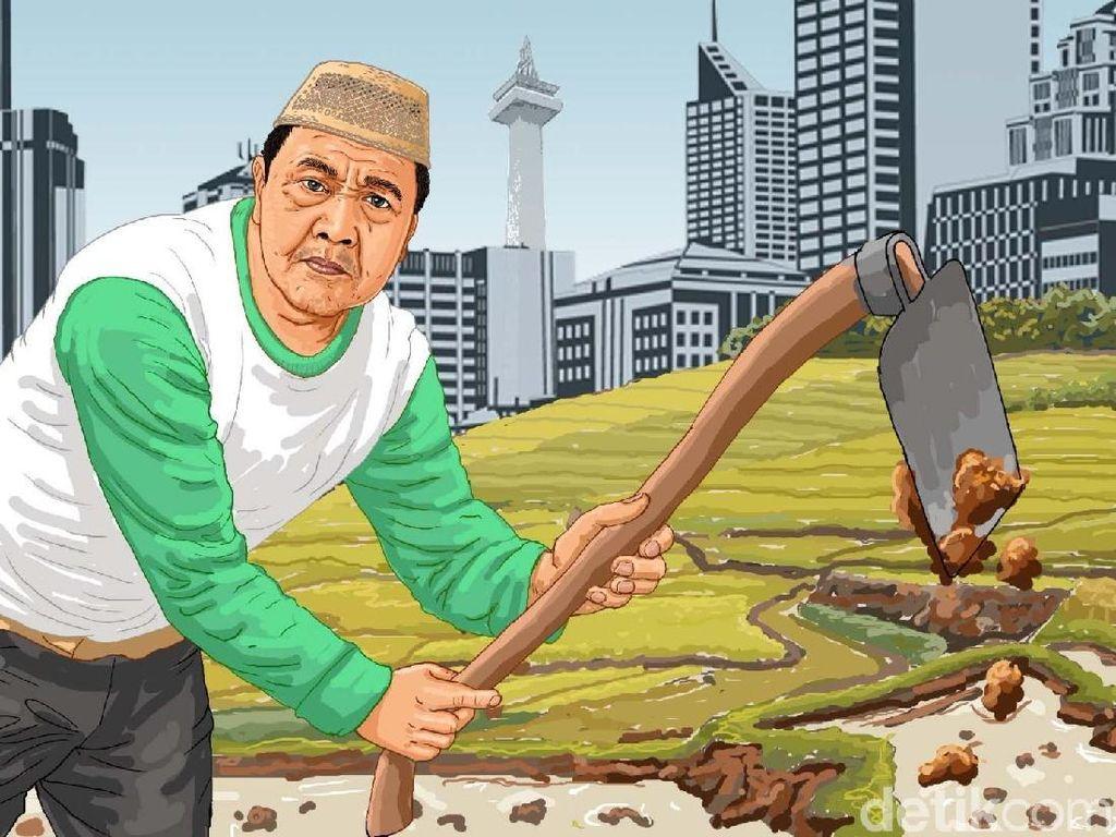 Syedih! Lahan Pertanian yang Hilang Makin Banyak Tiap Tahun