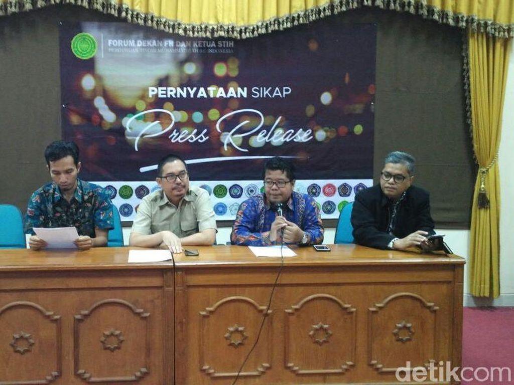 Forum Dekan Kampus Muhammadiyah Minta Ketua MK Mundur