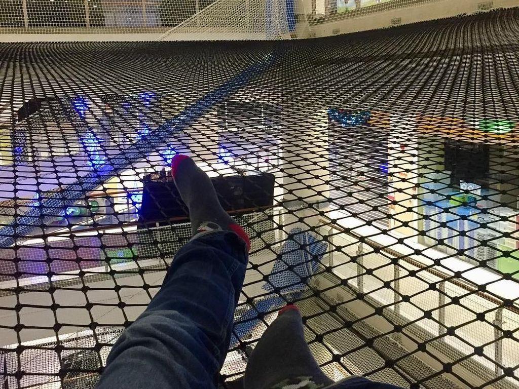 Foto: Wahana Permainan Ekstrim di Mal Singapura