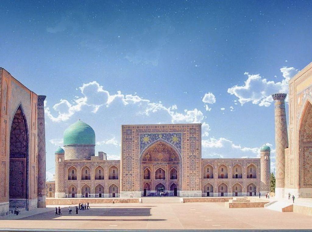 Silk Road Samarkand, Wisata Baru dari Negeri Wanita Tercantik Dunia