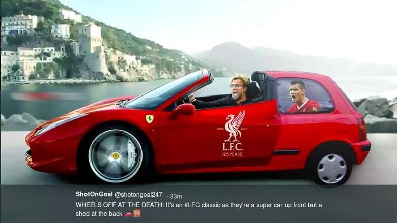 Meme-meme Usai Laga Kontroversial Liverpool vs Spurs