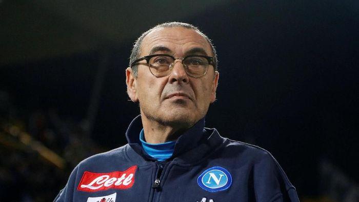 Maurizio Sarri manajer baru Chelsea. (Foto: Ciro De Luca/Reuters)