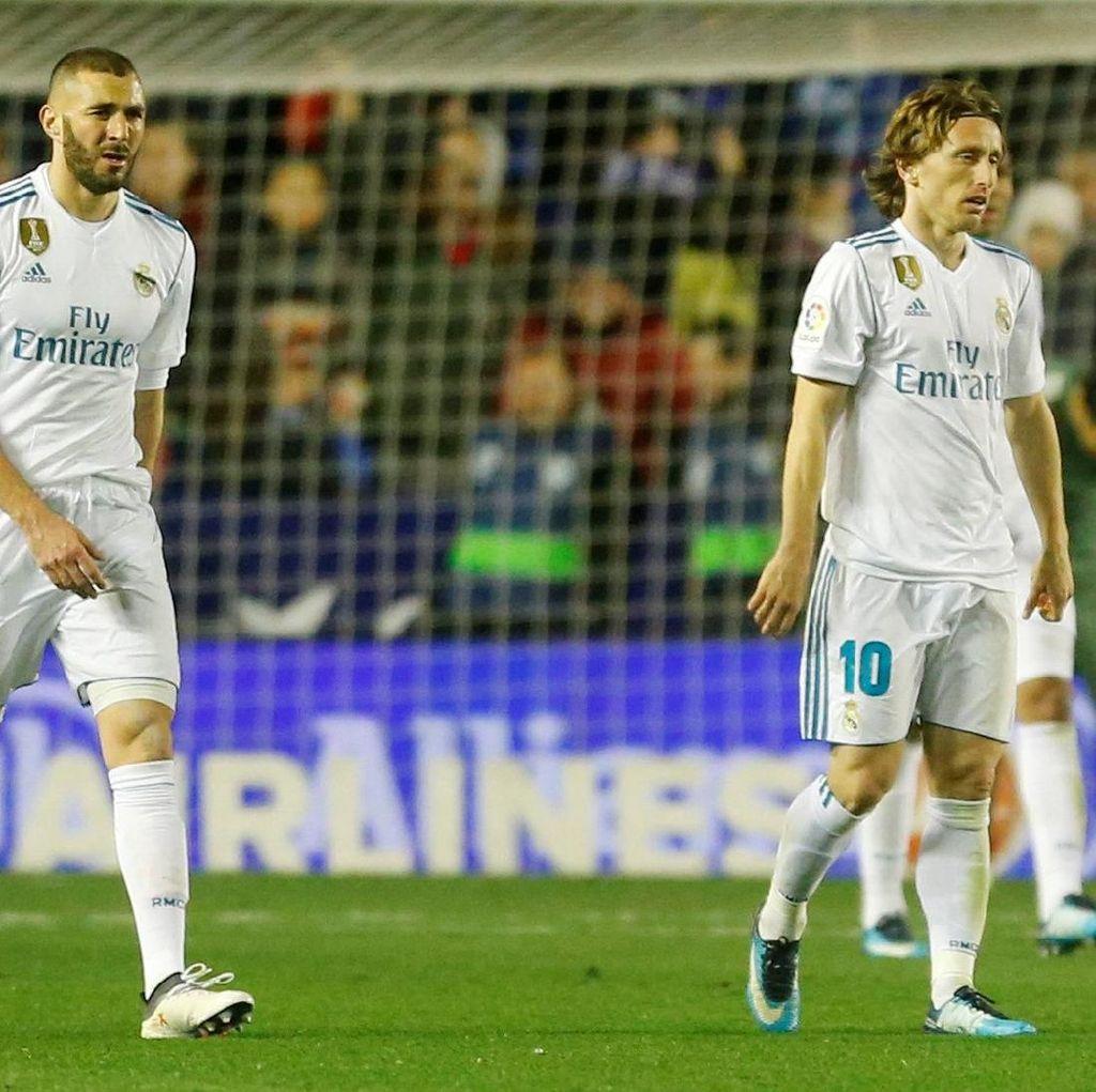 Performa Madrid Jeblok karena Terlena