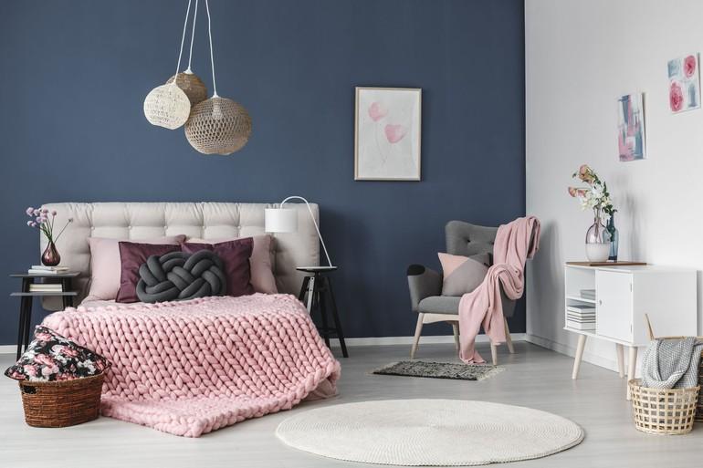 Makeover Kamar Tidur Sederhana  foto 10 gaya menata kamar tidur dengan warna warna pastel