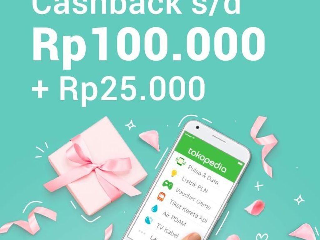 Pulsa Termurah Se-Indonesia, Cashback hingga Rp 125.000