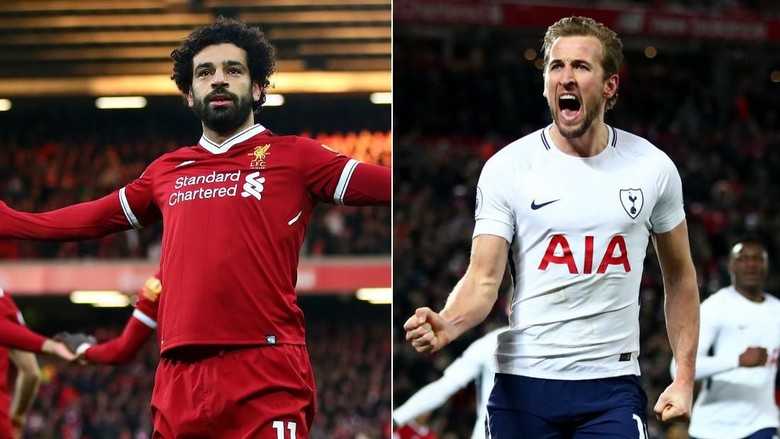 Salah vs Kane, Babak Akhir Persaingan Top Skorer Premier League