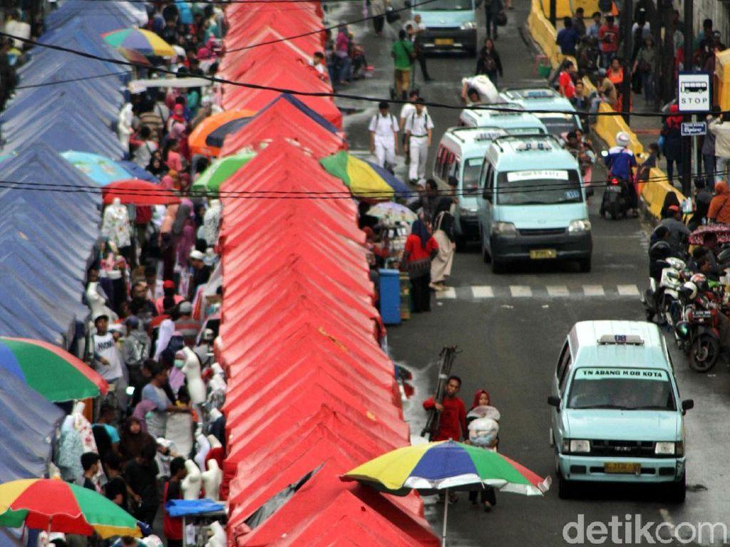 Sandi: Jalan Jatibaru Tn Abang Dibuka Setelah Sky Bridge Rampung