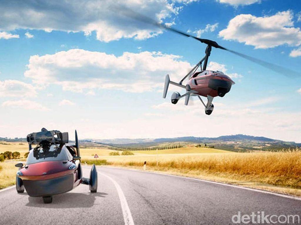 Mobil Terbang Siap Diproduksi, Harganya Rp 5,3 M, Berminat?