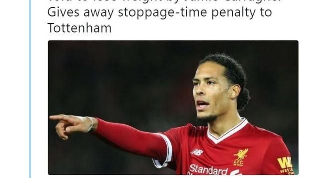 Meme Kesialan Liverpool Setelah Beli Van Dijk
