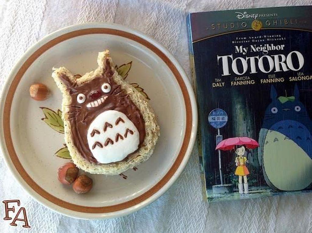 Imut dan Lucu, 10 Aneka Dessert Lezat Berbentuk Totoro