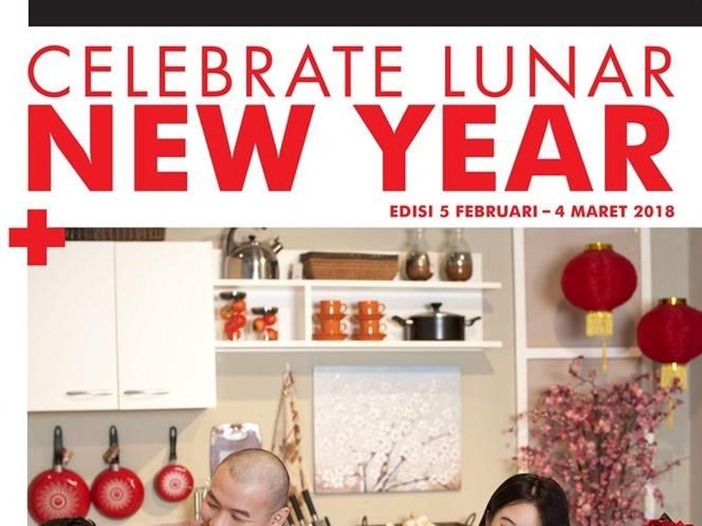 Imlek, Gratis Voucher Rp 80.000 & Plus Diskon 8% di Index Living Mall