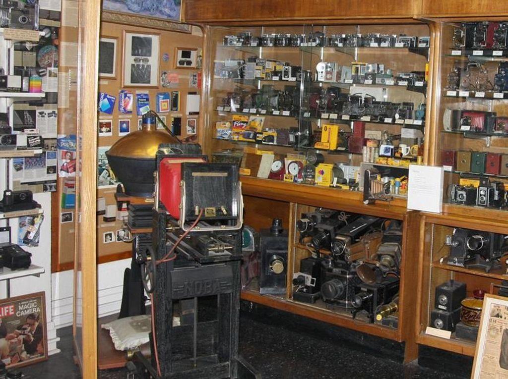 Foto: Museum untuk Penggila Foto dan Kamera Klasik