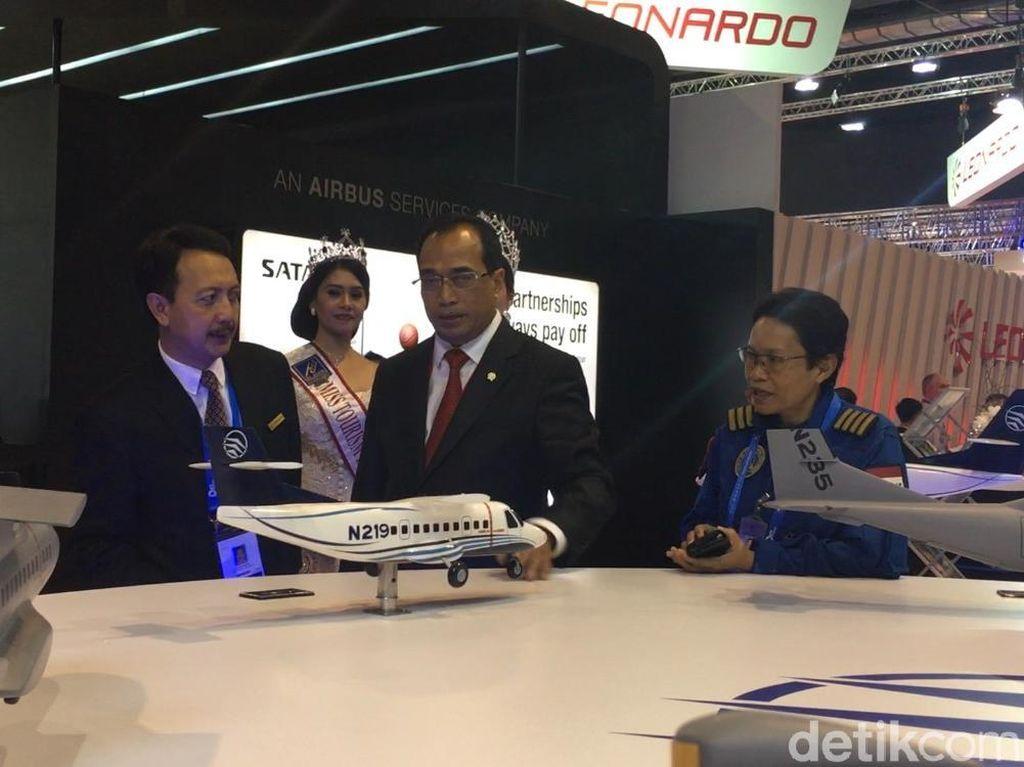 Tampil di Singapore Airshow, N219 Ternyata Dilirik Airbus
