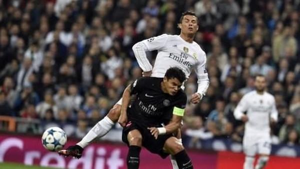 Thiago Silva: Ronaldo Lebih Mudah Diredam Ketimbang Messi