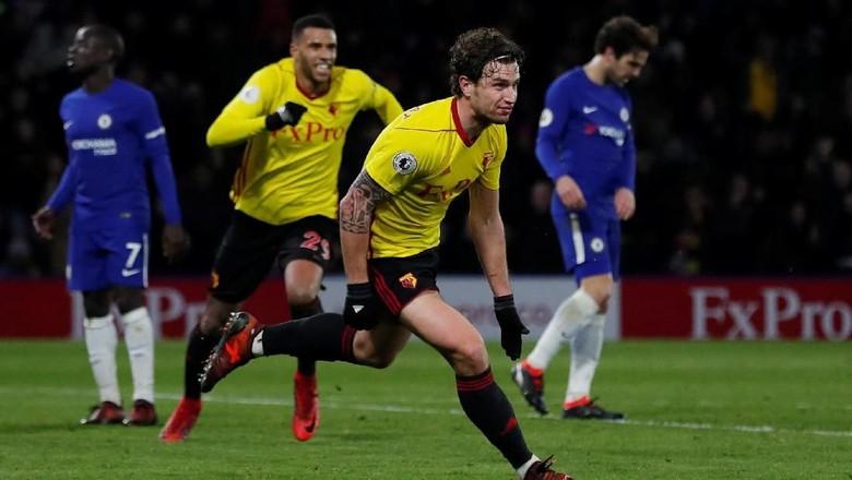 Watford Libas Chelsea 4-1
